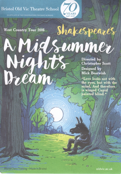 Midsummer dream flier BOVTS
