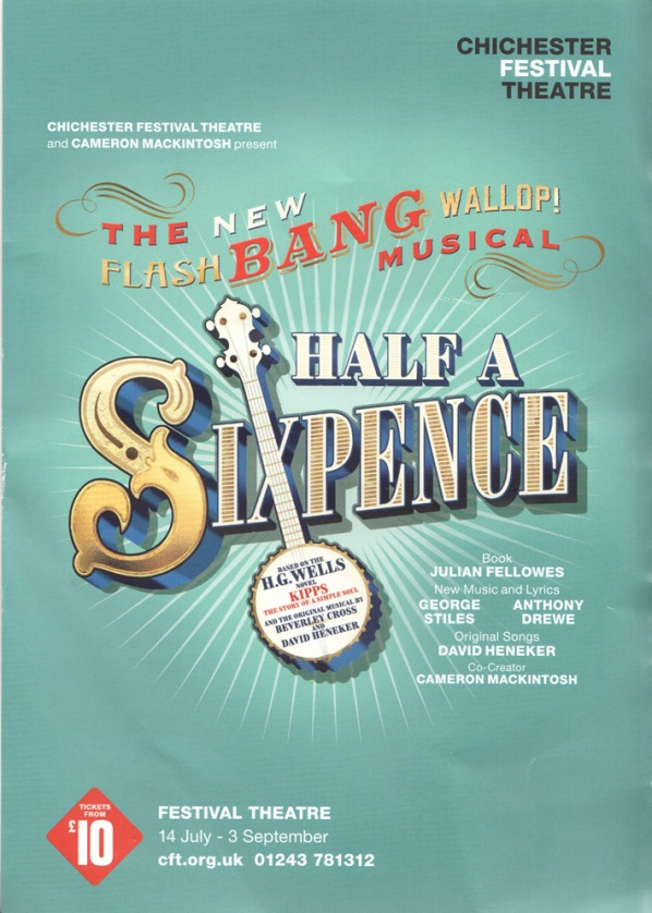 half a sixpence flier