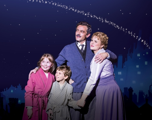 MARY-POPPINS-Milo-Twomey-as-Mr-Banks-and-Rebecca-Lock-as-Winifred-Banks.-Photo-credit-Johan-Persson