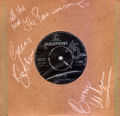 Poison Ivy Paramounts autographed