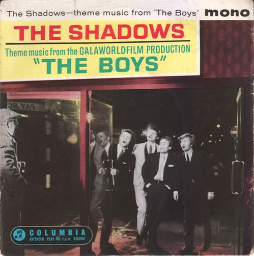 The Boys.The Shadows 1962 copy