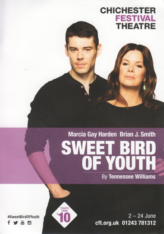 Sweet Bird of youth flier