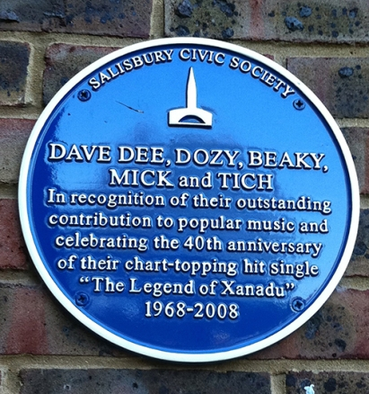 Dave Dee blue plaque copy