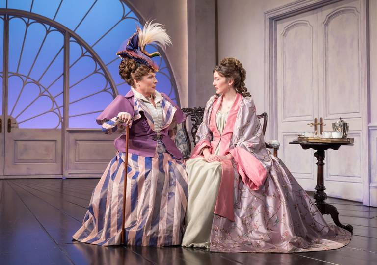 jennifer-saunders-as-duchess-of-berwick-and-grace-molony-as-lady-windermere-2-credit-marc-brenner