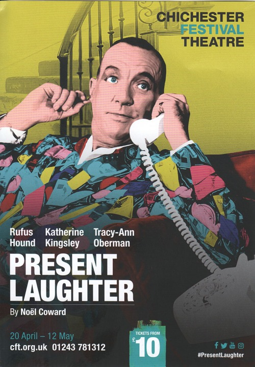 Present Laughter flier