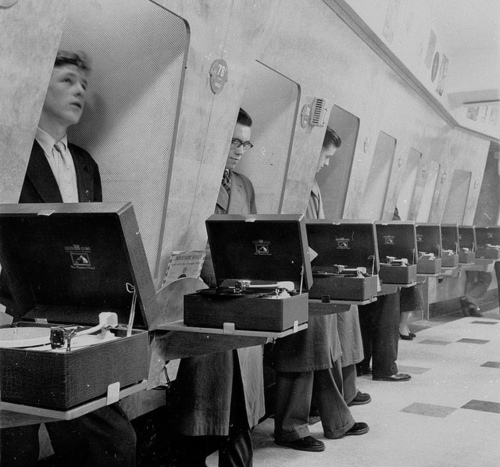 listening booth