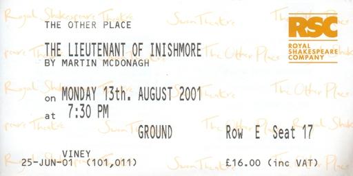 ticket 2001