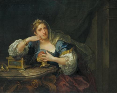 Sigismunda Mourning over the Heart of Guiscardo 1759 by William Hogarth 1697-1764