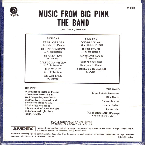 Music From Big Pink – 50th anniversary | Peter Viney\'s Blog