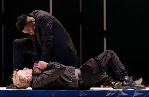 ETT-Othello-2018_Victor-Oshin-Othello-and-Paul-McEwan-Iago_Image-Helen-Murray1_1-700x455