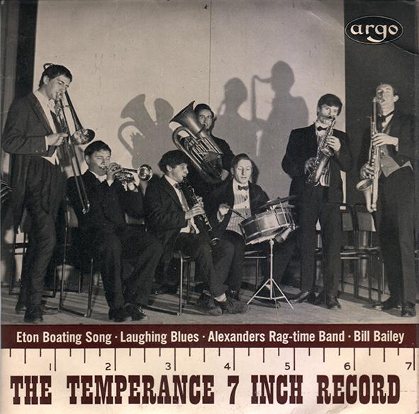 Temperance 7 inch record copy