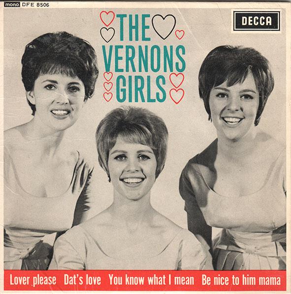 The Vernons Girls EP copy