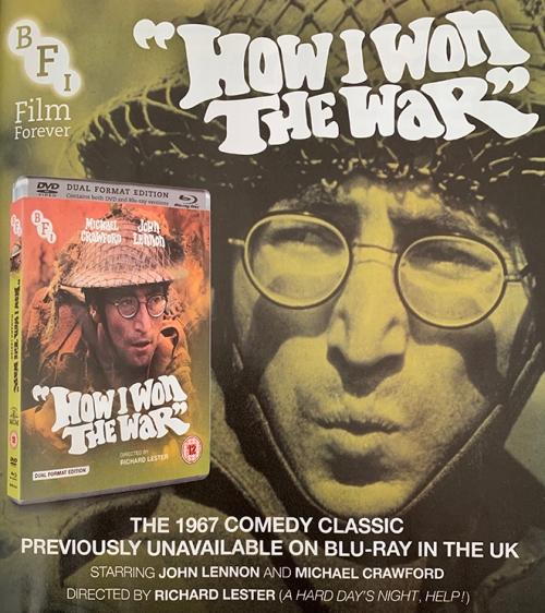 How I Won The War advert
