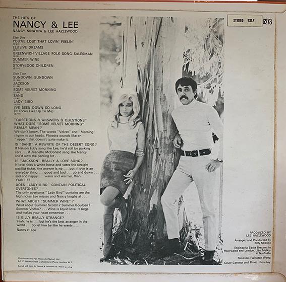 Nancy & Lee rear
