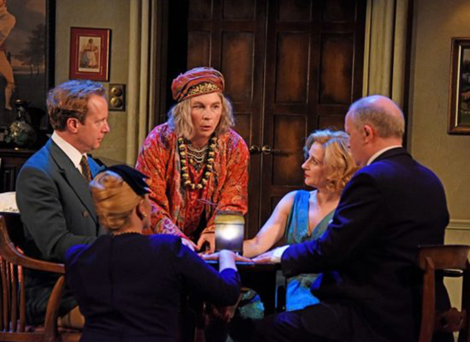 Theatre Royal Bath June 2019  Blithe Spirit by Noel Coward  Dire