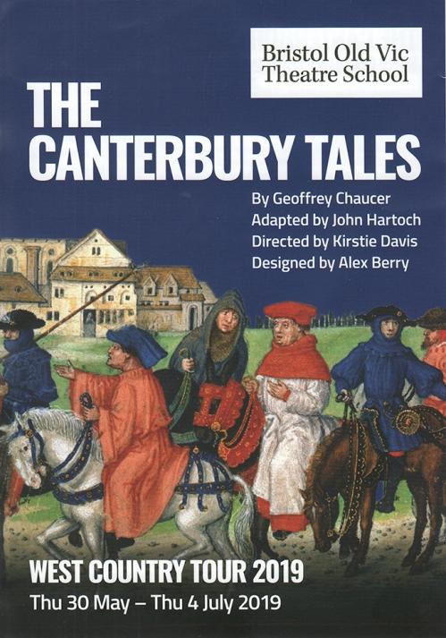 Canterbury Tales flier