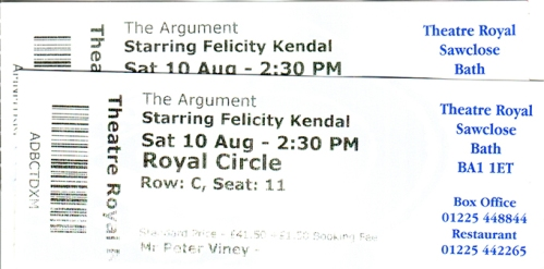 Argument tickets