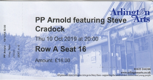PP Arnold ticket