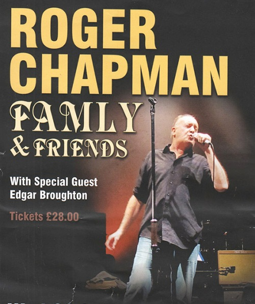 Roger Chapman flier