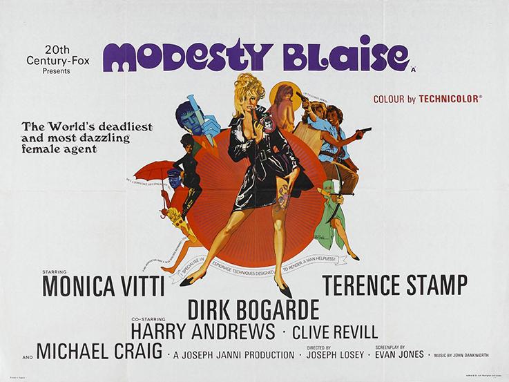 Modesty-Blaise_Poster-1966