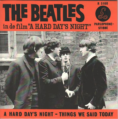 A Hard Day's Night Dutch 45