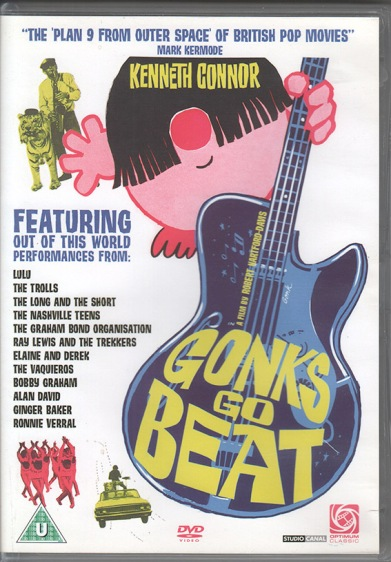 Gonks Go Beat DVD