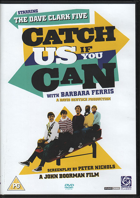 Catch Us If You Can DVD